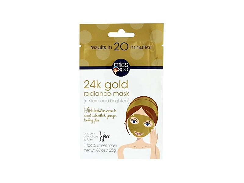 Miss Spa 24K Gold Radiance Facial Sheet Mask