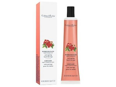 Crabtree & Evelyn Anti-Ageing Hand Therapy Cream, Pomegranate Argan & Grapeseed, 2.5 oz