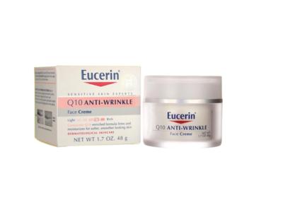 Eucerin Q10 Anti-Wrinkle + Retinol Night Cream, 1.7 oz