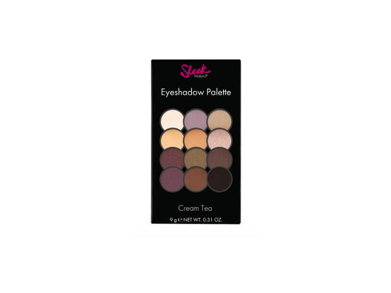 Sleek MakeUP Eyeshadow Palette, Cream Tea, .31 oz