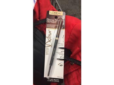 L'Oreal Paris Cosmetics Brow Stylist Definer Pencil, Light Brunette, 0.003 Ounce - Image 9
