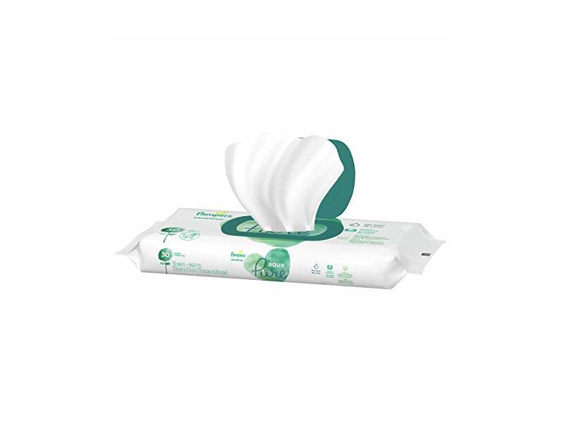 Pampers Aqua Pure Sensitive Wipes, 30 ct