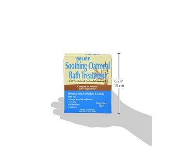 Relief MD Soothing Colloidal Oatmeal Bath Treatment - 6 Single Use Packets - Image 6