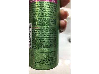 Garnier Fructis Full & Plush Root Amp Spray Mousse, 5oz - Image 4