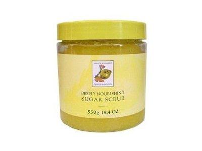 Asquith & Somerset Citrus & Ginger Exfoliating Sugar Scrub, 19.4 Fl.Oz.
