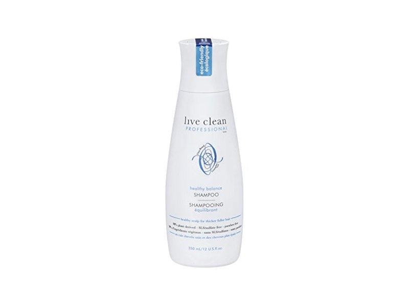 Live Clean Healthy Scalp Balancing Shampoo, 12 fl oz