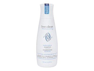Live Clean Healthy Scalp Balancing Shampoo, 12 fl oz - Image 1