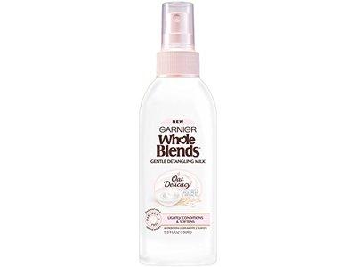 Garnier Whole Blends Gentle Detangling Hair Milk Oat Delicacy, 5 fl. oz.