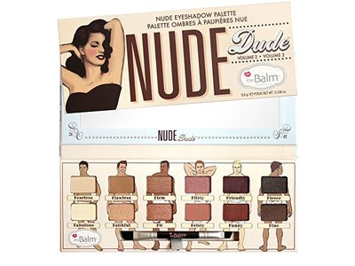 theBalm NUDE 'dude Eyeshadow Palette,12 shades