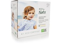 ECO by Naty Sensitive Wipes, Unscented, 3 boxes of 56 (168 Count) - Image 2