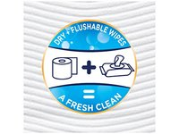 Cottonelle Gentleplus Flushable Wipes with Aloe & Vitamin E Wet Wipes, 84 Ct - Image 9