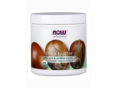 Now Solutions Organic Shea Butter, 7 oz, (4 Pack)