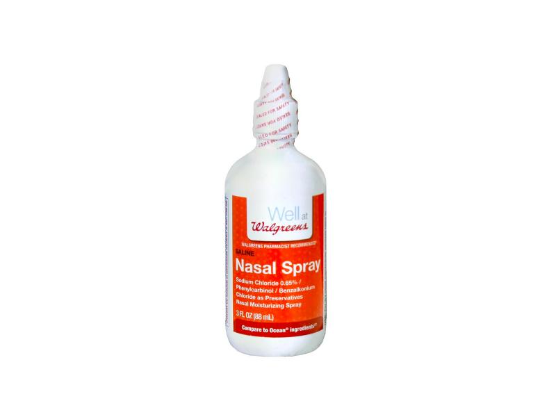 Walgreens Saline Nasal Spray, 3 oz
