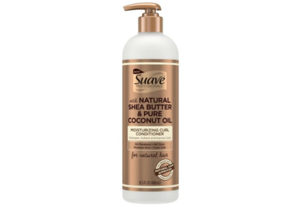 Suave Professionals Natural Shea Butter & Pure Coconut Oil Moisturizing Curl Conditioner, 16.5 fl oz