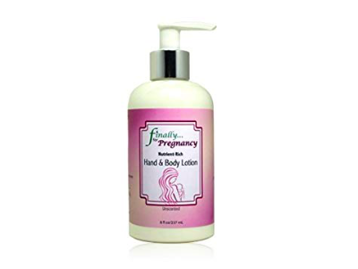 Finally Pure Unscented Hand & Body Lotion for Pregnancy, 8 fl oz