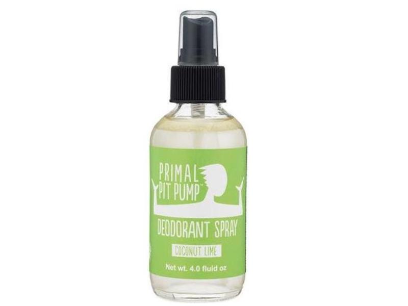 Primal Pit Paste Pump Deodorant Spray, Coconut Lime