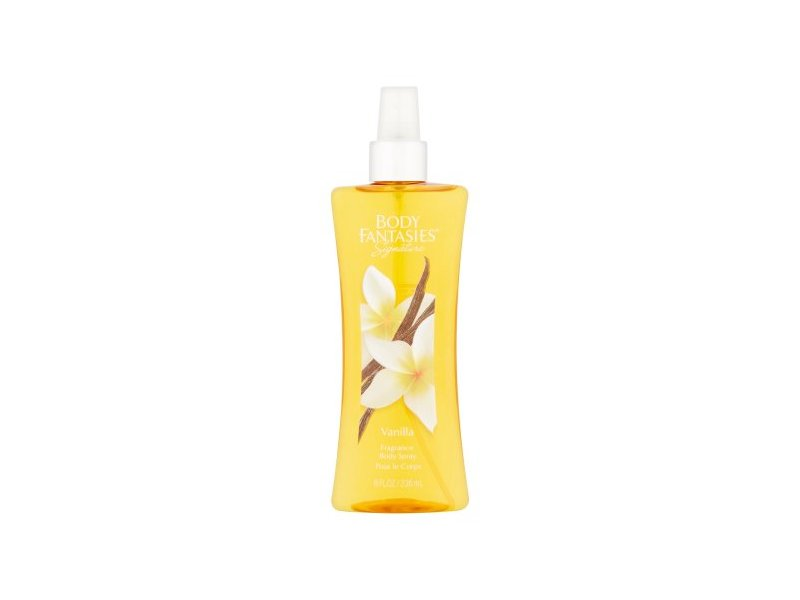 Body Fantasies Signature Fragrance Body Spray, Vanilla, 8 fl oz