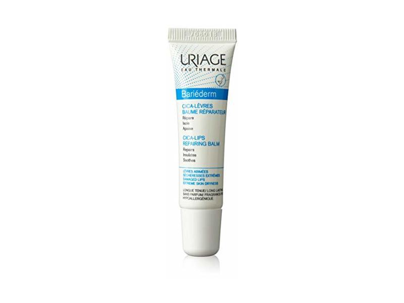 Uriage Bariederm Cica-lips Protecting Balm, 0.5 Oz.