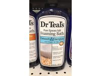 Dr Teal's Pure Epsom Salt Foaming Bath, Detoxify & Energize with Ginger & Clay, 34 fl oz - Image 5