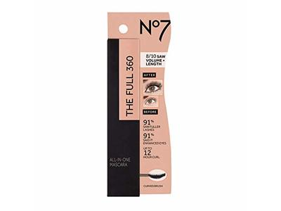 Boots No7 The Full 360 All-in-1 Mascara, Black