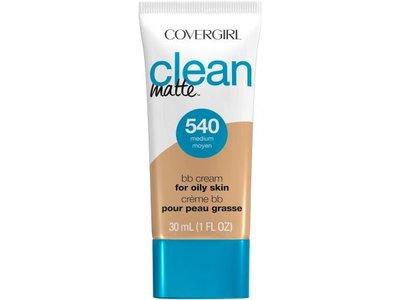 Covergirl Clean Matte BB Cream For Oily Skin, 540 Medium, 1 fl oz / 30 mL