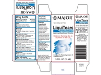 Major LiquiTears Lubricant Eye Drops - (15ml) 0.5 oz - Image 5