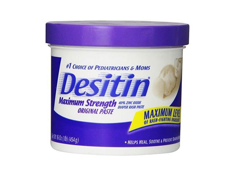 Desitin Maximum Strength Original Paste - 16 oz Jar
