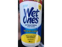 Wet Ones Antibacterial Hand Wipes, Citrus, 40 count - Image 3