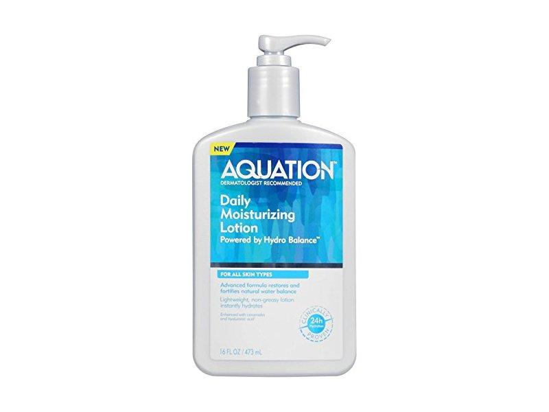 Aquation Body Lotion Moisturizer for Dry Skin, 16 oz
