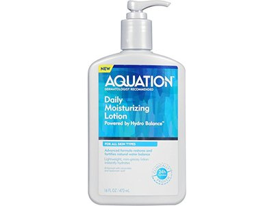 Aquation Body Lotion Moisturizer for Dry Skin, 16 oz