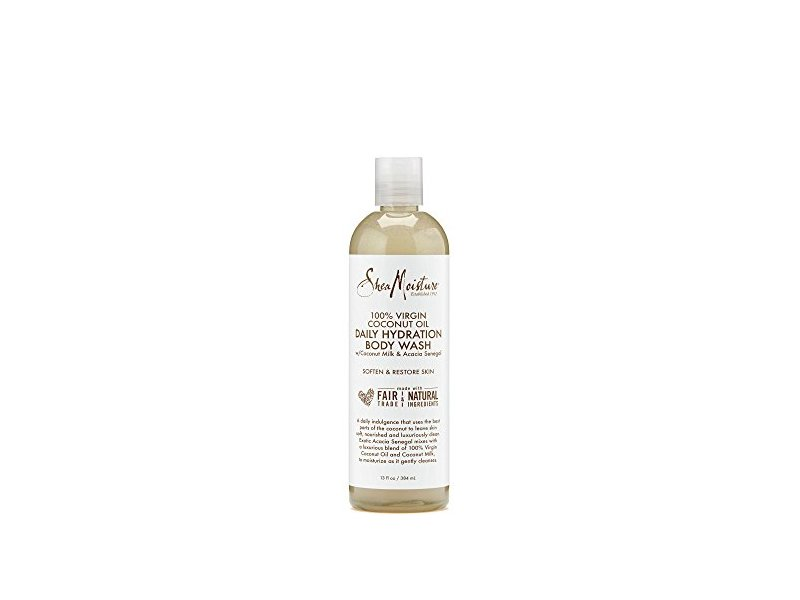 SheaMoisture 100% Virgin Coconut Oil Daily Hydration Body Wash With Coconut, 13 fl oz