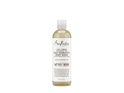 SheaMoisture 100% Virgin Coconut Oil Daily Hydration Body Wash With Coconut, 13 fl oz - Image 1