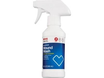 CVS Health Advanced Wound Wash First-Aid Cleanser, 8 oz