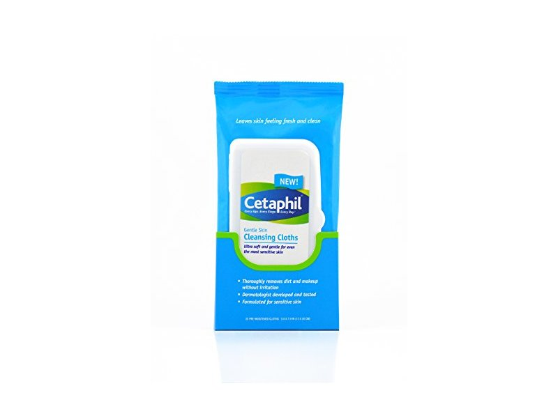 Cetaphil Gentle Skin Cleansing Cloths, 50 Count