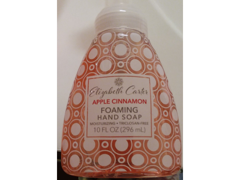 Elizabeth Carter Foaming Hand Soap, Apple Cinnamon, 10 fl oz
