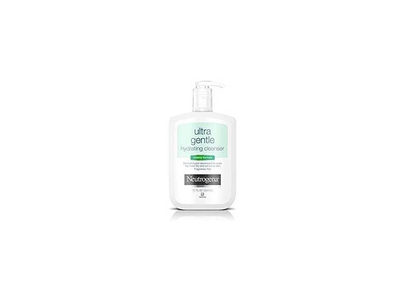 Neutrogena Ultra Gentle Hydrating Cleanser, Creamy Formula, 12 ounce
