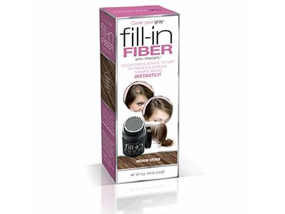 Cover Your Gray Pro Fill-In Fibers with Procapil, Medium Brown, 0.42 oz/12 g