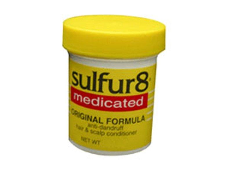 Sulfur8 Medicated Original Formula Anti-Dandruff Hair & Scalp Conditioner, 2 oz (Pack of 2)