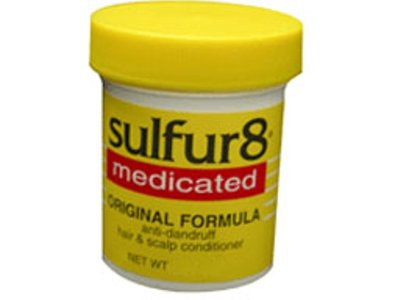 Sulfur8 Medicated Original Formula Anti-Dandruff Hair & Scalp Conditioner, 2 oz (Pack of 2)