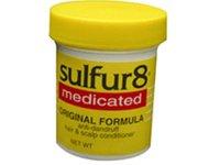 Sulfur8 Medicated Original Formula Anti-Dandruff Hair & Scalp Conditioner, 2 oz (Pack of 2) - Image 2