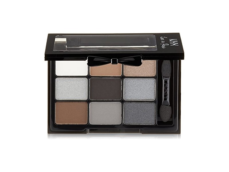 NYX Professional Makeup Love in Paris Eyeshadow Palette, A La Mode, 0.03 oz