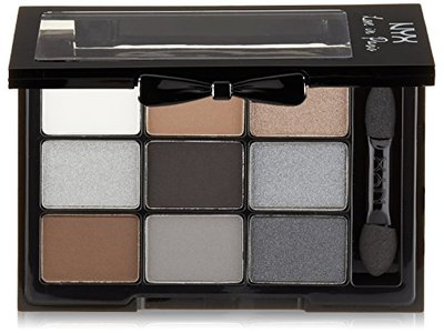NYX Professional Makeup Love in Paris Eyeshadow Palette, A La Mode, 0.03 oz - Image 1