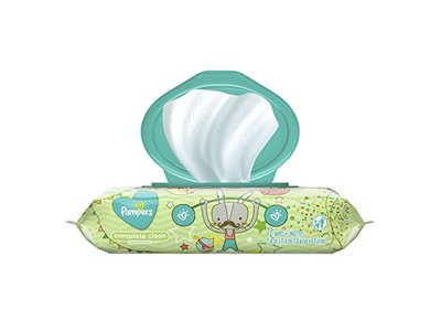 Pampers Baby Wipes Complete Clean, UnScented, 77 ct