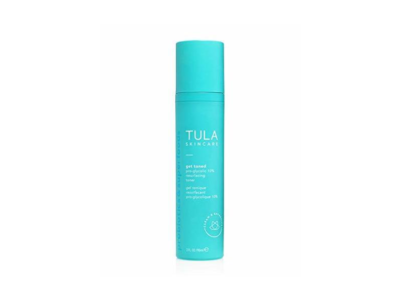Tula Skincare Get Toned Pro-Glycotic 10% Resurfacing Toner, 3 fl oz/90 mL