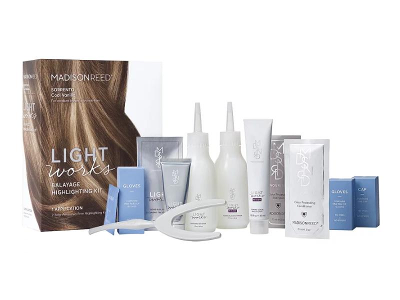 Madison Reed Light Works Balayage Highlighting Kit, Sorrento Cool Vanilla, 1ct