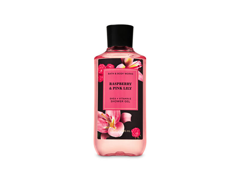 Bath & Body Works Raspberry & Pink Lily Shower Gel, 8 oz