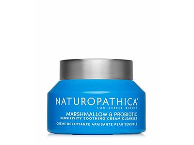 Naturopathica Marshmallow & Probiotic Sensitivity Soothing Cream Cleanser, 2.8 oz/80 g