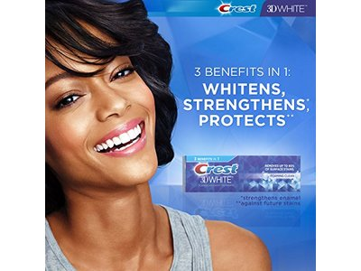 Crest 3D White Foaming Clean Whitening Toothpaste, 4.8 Ounce - Image 4