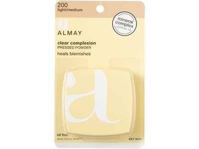 Almay Clear Complexion Clear Complexion Pressed Powder, Light/ Medium, Revlon - Image 3