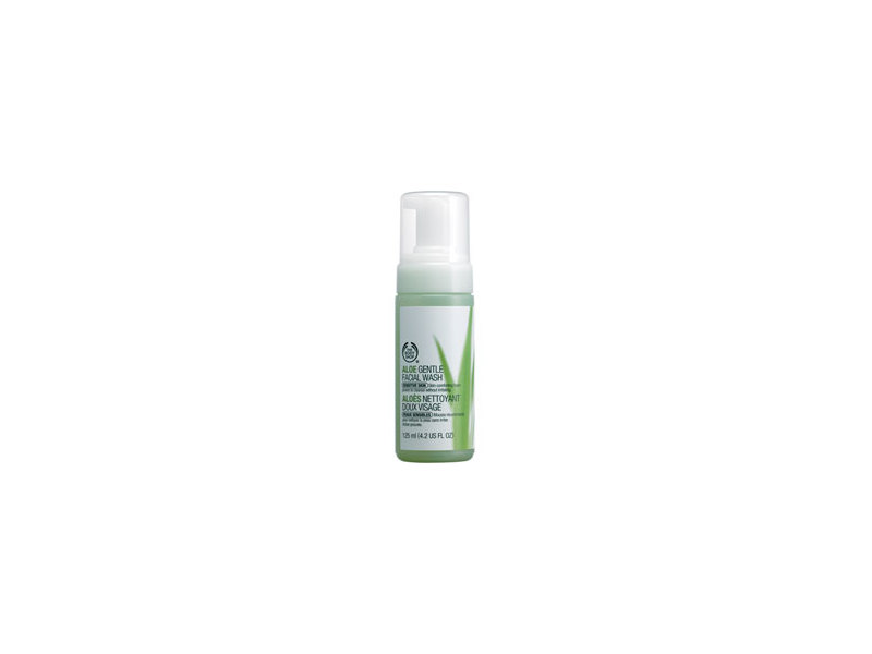 Aloe Gentle Facial Wash, The Body Shop